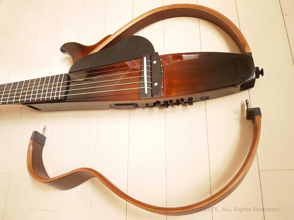 YAMAHA|サイレントギター|SLG200S|レビュー